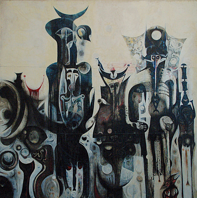 The Work of Sudanese Artist Ibrahim el-Salahi